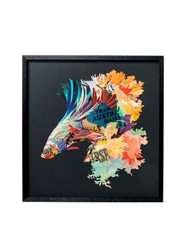 CUADRO ART BETTA FISH