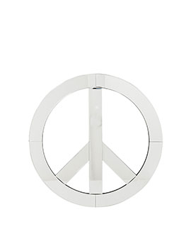 DECORACION PARED MIRROR PEACE