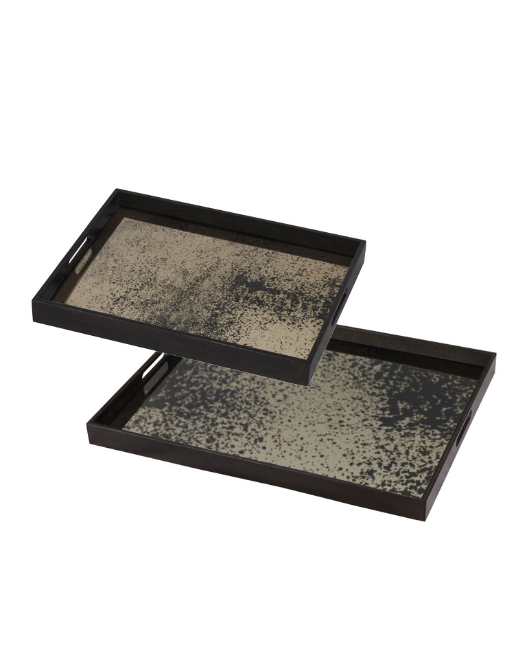 SET 2 MESAS RECTANGLE TRAY