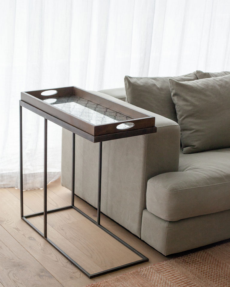 Mesa auxiliar rectangle tray - Mesas auxiliares para salon ...